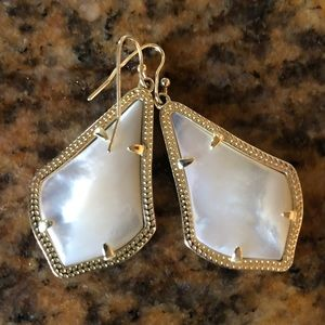 marble Kendra Scott earrings
